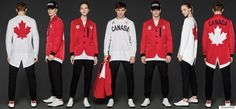 Canadian Olympic Team Unveils New Uniforms For Rio 2016 Designed By Dsquared2