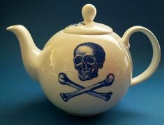#Skull Pirate teapot By Vince Ray #homeware