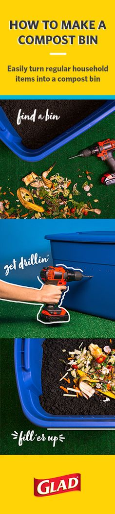 Building a compost bin is easier than you think. With a little planning and a few helpful tips, you'll be creating your own compost in no time at all. Garden Compost, Vegetable Garden, Outdoor Projects, Garden Projects, Garden Ideas, Farm Gardens, Outdoor Gardens, Organic Gardening, Gardening Tips