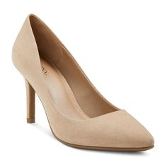 Women's Alexis Pointed Toe Pumps with 3.75 Heels - Denim 5.5, Nude