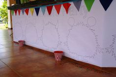 Monster Themed Birthday Party via Kara's Party Ideas   Kara'sPartyIdeas.com #monster #birthday #party (4)