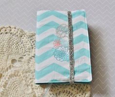 """NWT Bible Cover with doily medallion embroidery from keepeweclean.etsy.com (keep """"you"""" clean)"""