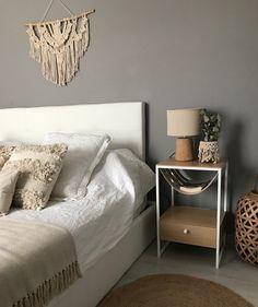 Scandinavian design at its best. Designed by by Crea® and made in Sweden! Bedroom Inspo, Home Bedroom, Bedroom Decor, Natural Bedroom, Bed Table, Minimalist Furniture, Boho Room, Design Moderne, Scandinavian Design