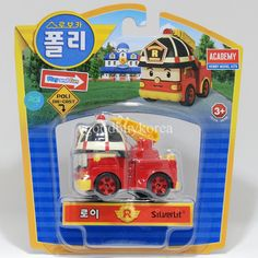 [Korean Toy] Robocar Poli Die Cast Series (Roi, Fire engine) Academy in Toys & Hobbies   eBay