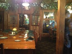 Photo of Patti's Settlement - Grand Rivers, KY, United States. The dining room I ate in. Patti's 1880's Settlement, Beautiful Dining Rooms, Rivers, Table Settings, United States, The Unit, River, Place Settings, Lakes