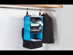Rise Gear - Portable Shelving Luggage System