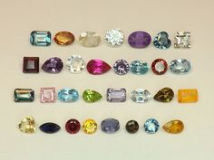 Sale  20tcw Mixed Lot of Gemstones from scrap gold silver & vintage jewelry