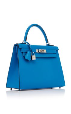 A bleu atoll epsom leather sellier kelly 25 with gold hardware ... e287792bbf