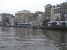 Amsterdam from canal tour boat, 2009