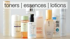 Toners, Essences & Lotions - What Are They? | My Fave Picks - YouTube