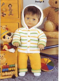 Album Archive Baby Doll Clothes Patterns Knitting Dolls Clothes Knitted Doll Patterns