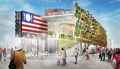 Milan Expo 2015: USA Pavilion by Biber Architects