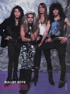 1000+ images about Bulletboys on Pinterest | Music magazines, San ...