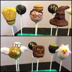 Harry Potter cake pops