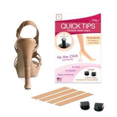 QUICK TIPS Large Heel Caps for worn heel tips