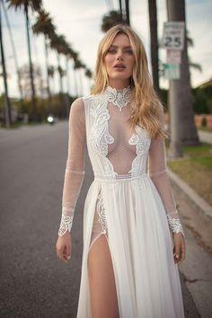Sheer Wedding Dress, Sexy Wedding Dresses, Designer Wedding Dresses, Wedding Gowns, Berta Bridal, Bridal Gowns, Muse By Berta, Wedding Gown Gallery, Luxe Wedding