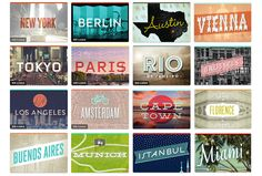 So many cities I would love to visit!