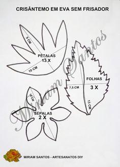 d9e9e5f4f 41 melhores imagens da pasta FRISADOR DE FLORES | Tools, Fabric ...