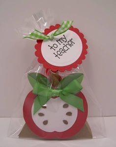 Apple For My Teacher by !Beth! - Cards and Paper Crafts at Splitcoaststampers