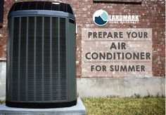 Prepare your air conditioner for summer using your home warranty plan.