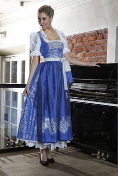 Long dress very german