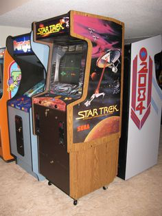 classic arcade game machines - Google Search