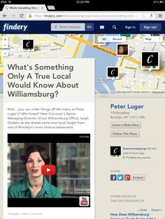 What's Something Only A True Local Would Know About Williamsburg? Wait... you can order things off the menu at Peter Luger's? Who knew? Hear Corcoran's Senior Managing Director of our Williamsburg Office, Leigh Godwin as she shares some true local insight from one of Brooklyn's most famous restaurants.