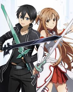 The Effective Pictures We Offer You About GIF de amor A quality picture can tell you many things. You can find the most beautiful pictures that can be presented to you about funny GIF in this account. Arte Online, Online Art, Anime Girl Cute, Cute Anime Couples, Sao Kirito And Asuna, Desenhos Love, Sao Anime, Sword Art Online Wallpaper, Sword Art Online Kirito