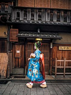 If Japan has a face, it's to be found in this small district directly adjacent to Yasaka Shrine, for it's here that the geisha—or geiko, as they're known in Kyoto—live and work. Contrary to popular belief, geiko are not prostitutes.