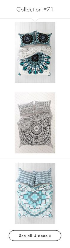 """""""Collection #71"""" by mindlessforeva ❤ liked on Polyvore featuring home, bed & bath, bedding, duvet covers, king bedding, twin xl duvet insert, king size bedding, twin extra long bedding, medallion bedding and white floral bedding"""