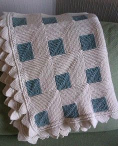 Hand Knitted Baby Blanket Made to Order. $150.00, via Etsy Finesse Lifestyle