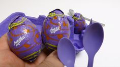 Milka Chocolate Eggs - Special Easter Egg Edition
