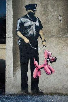 Banksy - Street Art                                                       …                                                                                                                                                                                 Mor