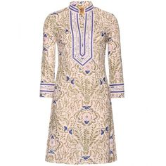 Tory Burch Tory Print Tunic ($445) ❤ liked on Polyvore