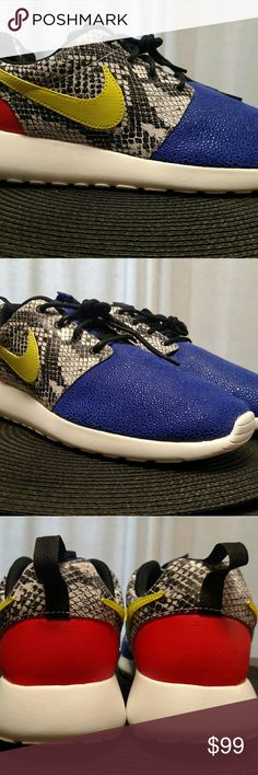 Nike womens roshe one flyknit 704927-302 | Purple nike shoes, Roshe and  Athletic shoes