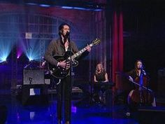 "David Letterman - Hozier: ""Take Me To Church"". irish guy from wicklow. If you haven't heard of him yet go check him out he's amaing :) thi song is so powerful :)"