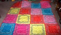 bandana quilt: for a western bedroom!