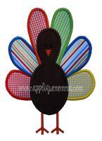 Turkey Applique Design