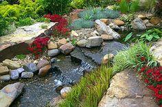 Stream gardens-yard-art-outdoor-living