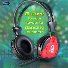 Now groove to your favourite dancing numbers on Quantum QHM880 Headset with superb sound quality & powerful bass.