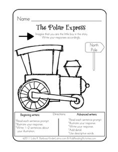 The Polar Express (eng)- free - Lidia Barbosa - TeachersPayTeachers.com