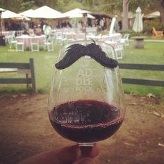 Moustachioed Mourvedre at the Malibu Wines Tasting Room Photo by snowmannco