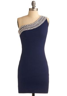 Really like one shoulder dresses after the one I bought this past summer. $58 from modcloth.com.