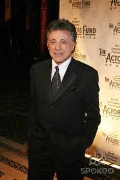 Frankie Valli. I'm freakishly obsessed....but I can't help it. He's a God among men. <3