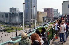 Op het dak van het Groothandelsgebouw - bewri
