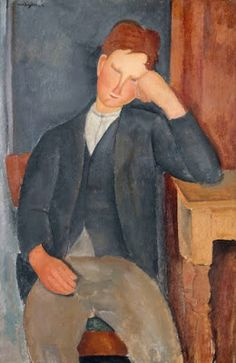 Image is Copyrighted and Property of its respective owner About the ArtistThe elongated portraits and luxuriant nudes of Modigliani are instantly recognized as his personal style. Modigliani was Italian by birth, but lived in Paris for most of hi. Amedeo Modigliani, Italian Painters, Henri Matisse, Claude Monet, Art Google, Edgar Degas, Find Art, Art Reproductions, Les Oeuvres
