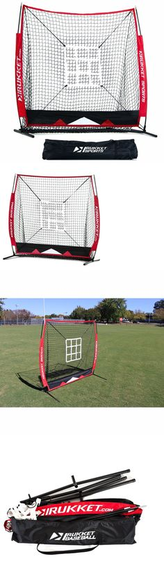 Other Baseball Training Aids 181332: Baseball Ball Return Training Equipment Pitching Net Target Hitting Practice New BUY IT NOW ONLY: $99.7