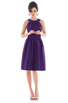 Alfred Sung D492 Bridesmaid Dress | Weddington Way
