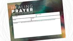 http://www.onechurchresource.com/healing-prayer-card