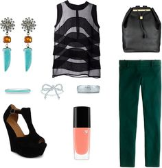 """Untitled #41"" by athensstreetstyle on Polyvore"